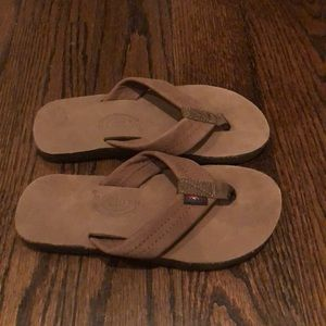 3 for $30 rainbow flip flops
